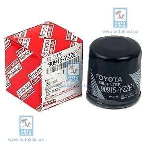 Фильтр масляный TOYOTA 90915-YZZE1: заказать