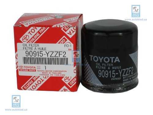 Фильтр масляный TOYOTA 90915-YZZF2: цена