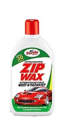 Автошампунь ZIP Wax 500мл TURTLE WAX T5331: стоимость