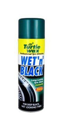 Очиститель шин аэрозоль Wet n' Black 500мл TURTLE WAX T5671