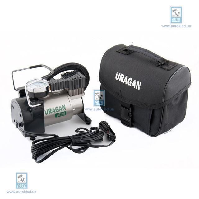 Компрессор автомобильный 12В 7Атм 37л/мин URAGAN 90120: цена