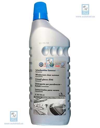 Жидкость омывателя летняя концентрат 1л VAG G052184A2