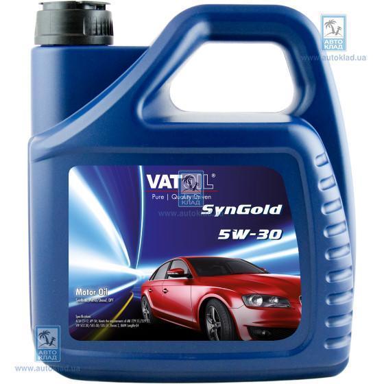 Масло моторное 5W-30 SynGold 4л VATOIL VAT104