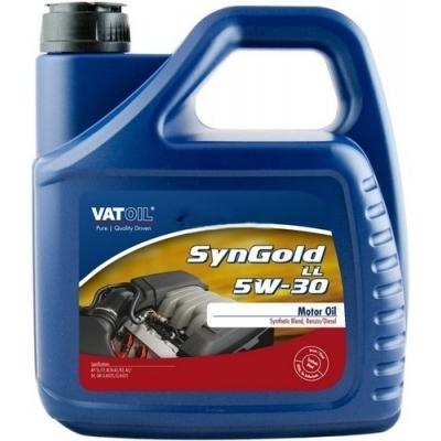 Масло моторное 5W-30 SynGold LL-III Plus 4л VATOIL VAT104LONGLIII