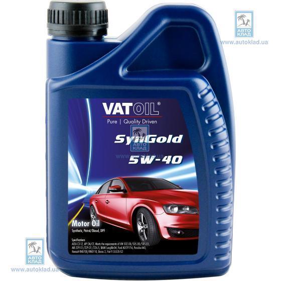 Масло моторное 5W-40 SynGold 1л VATOIL VAT111