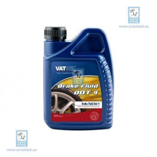 Тормозная жидкость DOT4 1л VATOIL VATDOT4