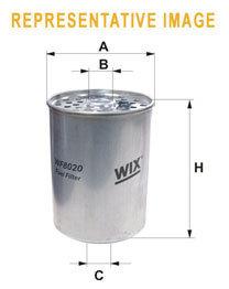Фильтр топливный WIX 33166RE