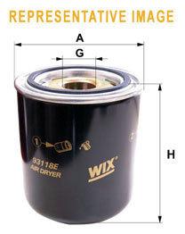 Фильтр пневматической системы WIX 93118E
