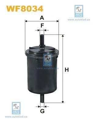 Фильтр топливный WIX WF8034