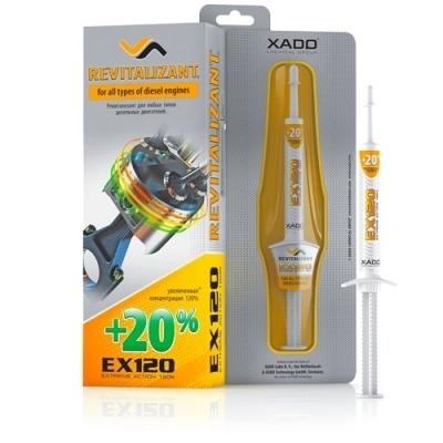 Гель-ревитализант для дизельного двигателя EX120 8мл XADO XA11034