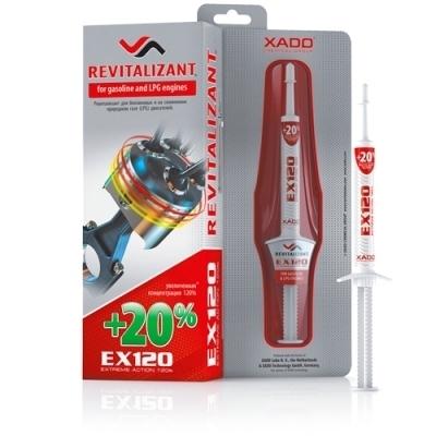 Гель-ревитализант для бензинового двигателя EX120 8мл XADO XA11035