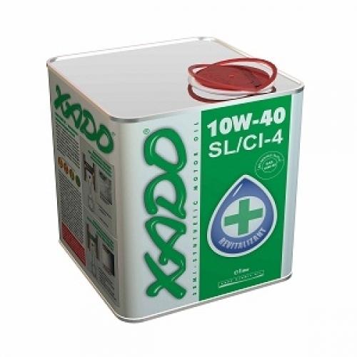 Масло моторное 10W-40 Atomic SL/CI-4 0.5л XADO XA20009