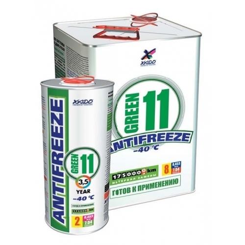 Купить Антифриз G11 зеленый -40°C 2л XADO XA50206
