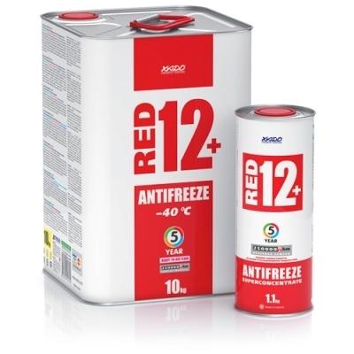 Антифриз G12+ красный 2.2кг XADO XA50207
