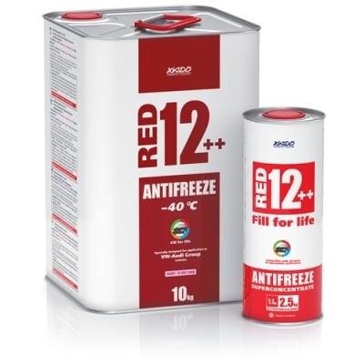 Антифриз G12++ красный -40°C 2.2кг XADO XA50209
