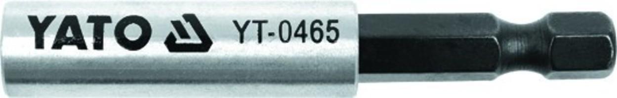 Держатель магнитный 1/4'' 60мм YATO YT0465