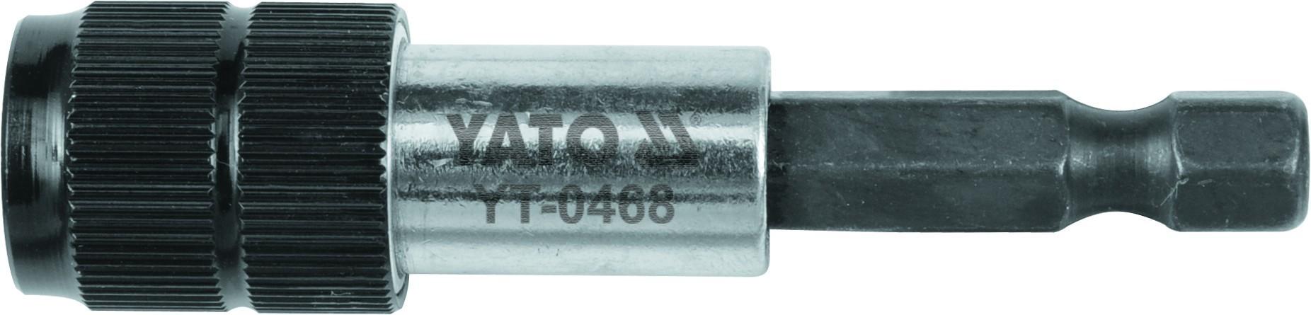 Быстросъемный магнитный держатель 1/4'' 60мм YATO YT0468
