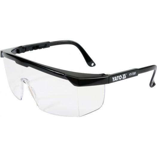 Очки защитные открытые YATO YT7361