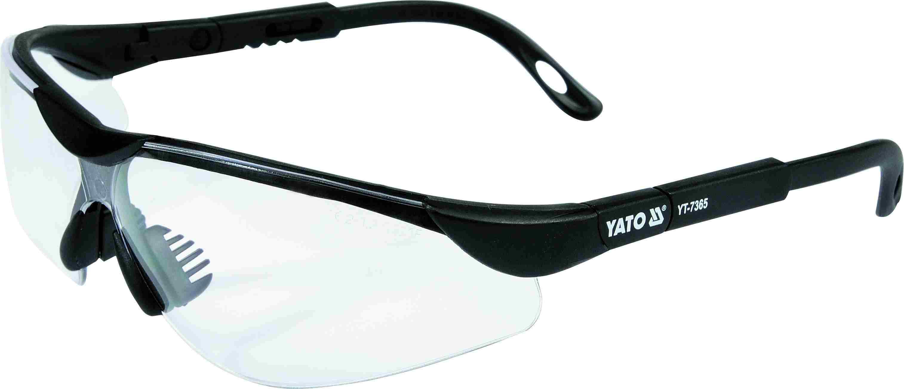 Очки защитные открытые YATO YT7365