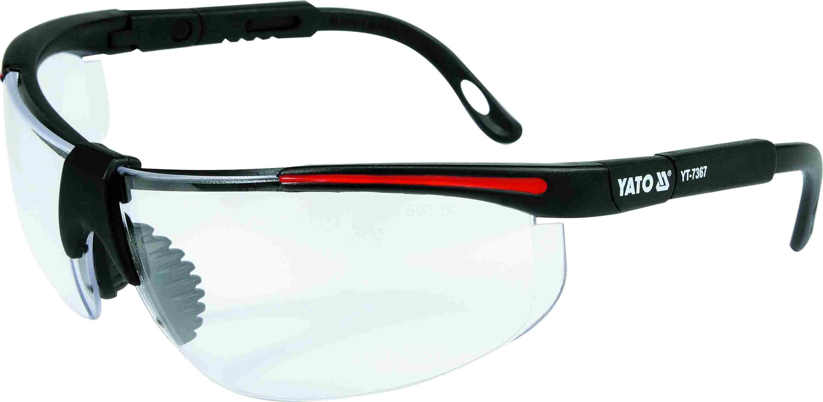 Очки защитные открытые YATO YT7367
