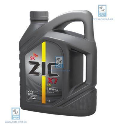 Масло моторное 10W-40 X7 LS 4л ZIC 162652