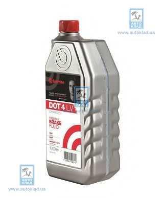 Тормозная жидкость DOT4 250мл BREMBO LA4002