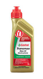 Масло трансмиссионное ATF Transmax Dexron III Multivehicle 1л CASTROL 181760254