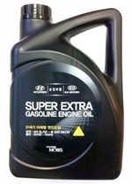 Масло моторное 5W-30 Super Extra Gasoline 4л HYUNDAI/KIA 0510000410