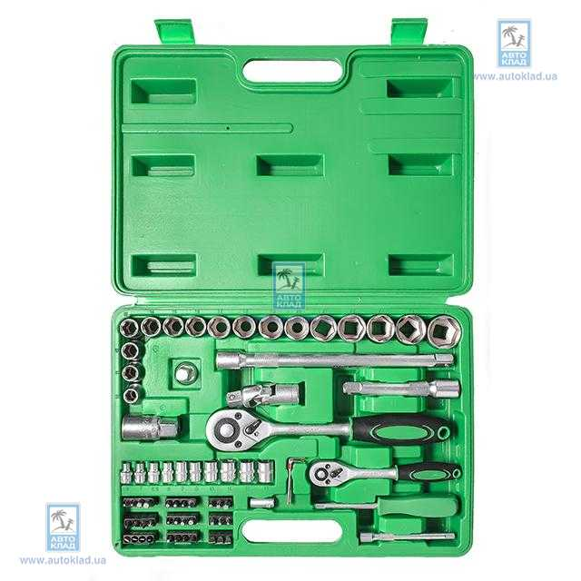 Набор инструмента 72ед 1/2'' и 1/4'' Cr-V INTERTOOL ET6072SP