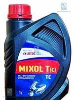Масло для 2Т двигателей Mixol T API TC 1л LOTOS LOTMIXTAPITCL1