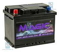 Аккумулятор 60Ач (1) AC/DC MAGIC ENERGY MGT060A01