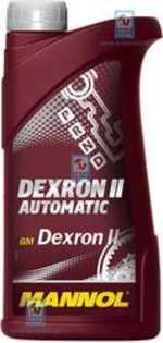 Масло трансмиссионное ATF Dextron II Automatic 0.5л MANNOL MN2858