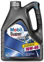 Масло моторное 10W-40 Super 2000 4л MOBIL 150018