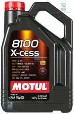 Масло моторне 5W-40 8100 X-Cess 4л MOTUL 368207