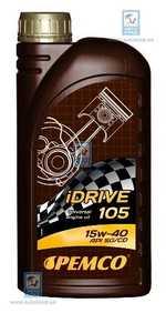 Масло моторное 15W-40 iDrive 105 LADAX 1л PEMCO PM5901