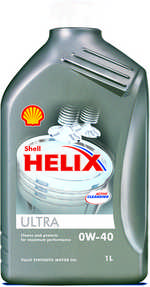 Масло моторное 0W-40 Helix Ultra 1л SHELL SHELL00017