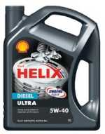 Масло моторное 5W-40 Helix Diesel Ultra 4л SHELL SHELL00029
