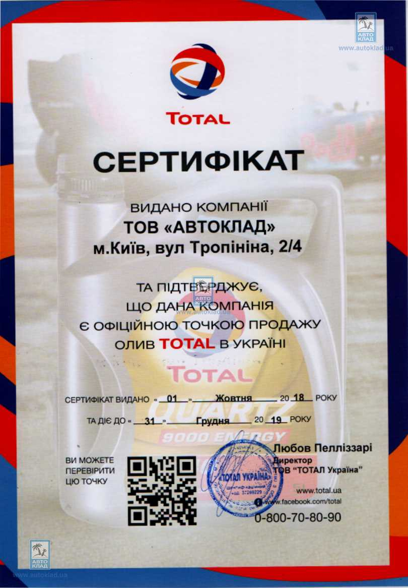 Масло моторное 5W-40 Quartz 9000 Energy 5л TOTAL 156812: продажа